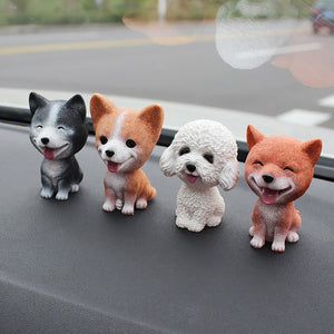 Dashboard-Doggies adorable Bobble-head figurines