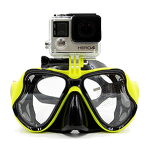 Snorkeling & Diving Mask With Camera Mount