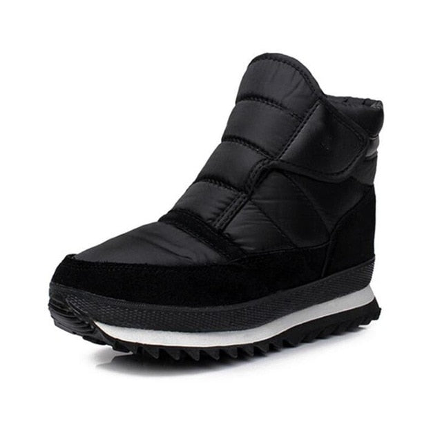 High quality Mens winter boots 2018 | waterproof | non-slip flat ankle boots | fits large