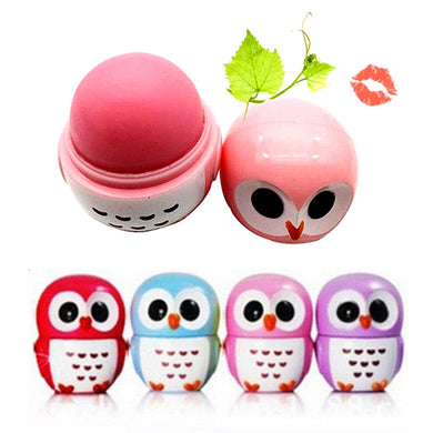 Candy Color Owl Moisturizing Lip Balm