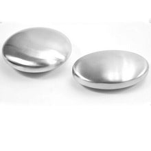 "Stainless Steel ""Magic Soap"" Smell-Out Bar! Eliminates clingy food-smells."