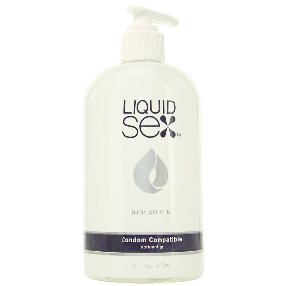 Liquid Sex Condom Compatible Gel Lubricant 16oz/473ml
