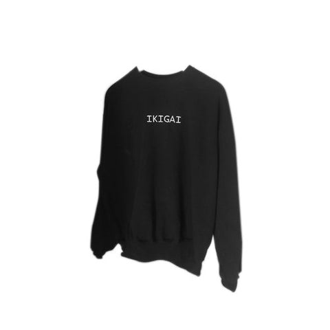 Black Sweatshirt - Pure Basics