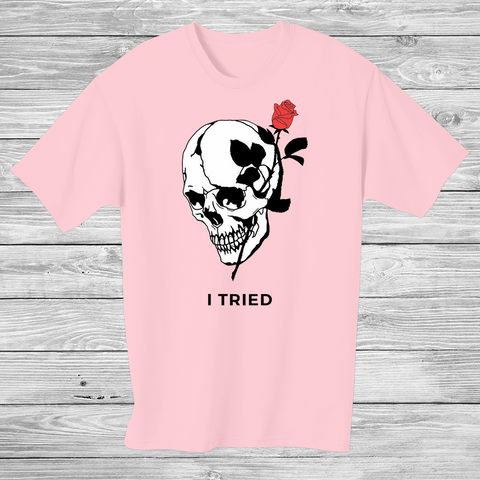 DEATH - Shiku T-shirt Pink