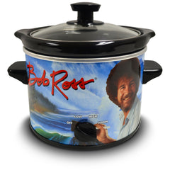 Bob Ross 2 Quart Slow Cooker