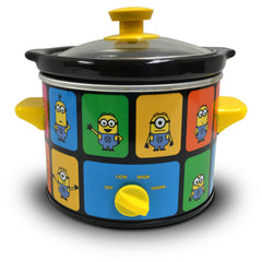 Minions 2 Quart Slow Cooker