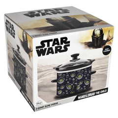 Star Wars The Mandalorian 2-Quart Slow Cooker-PRESELL SHIPPING  MAY 17TH