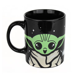 The Mandalorian Single Cup Coffee Maker with Mug- Cup of Baby Yoda Joe