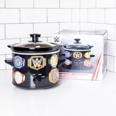WWE Championship Belt 2 QT Slow Cooker