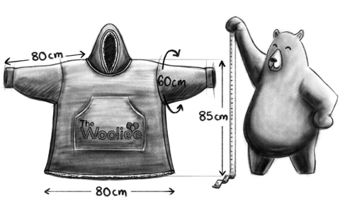 Wooliee Size Chart