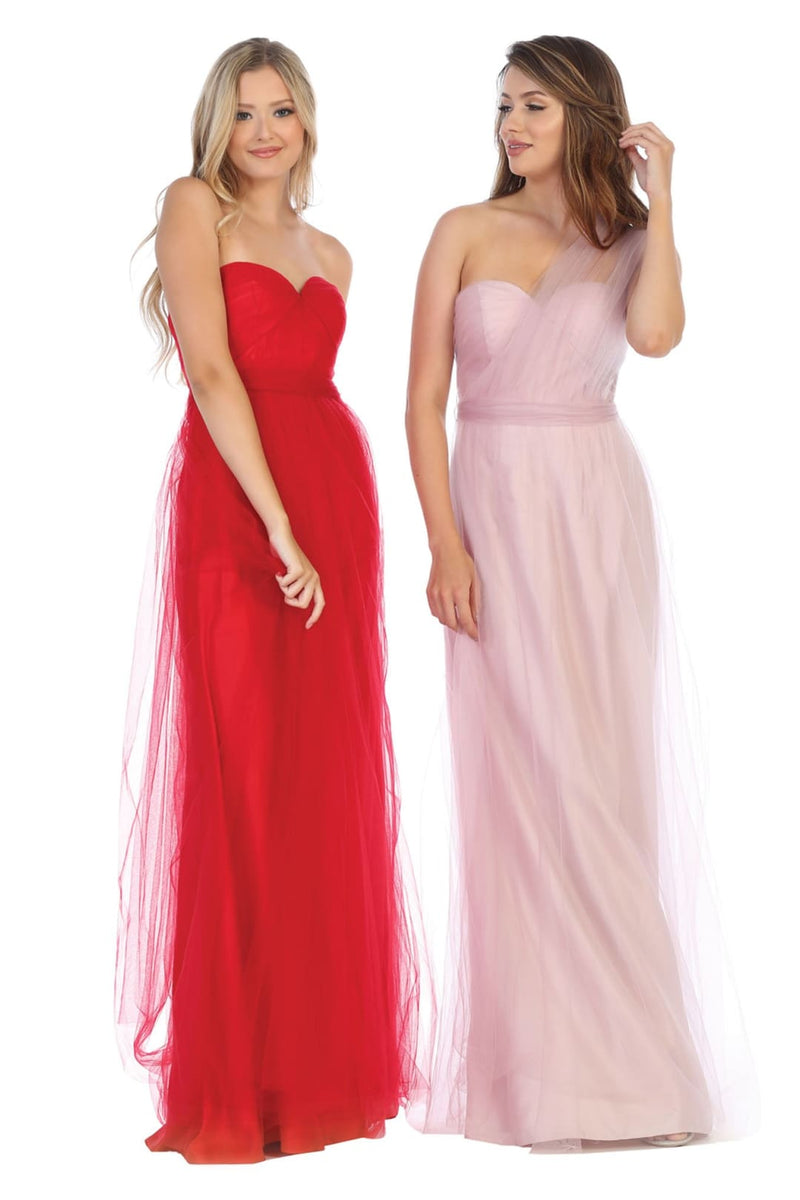 Long Dresses Bridesmaid