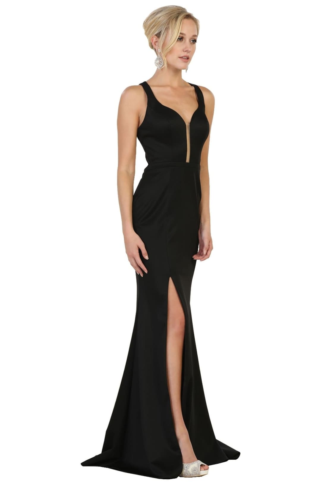 New Glamorous Evening Gown - Black / 4