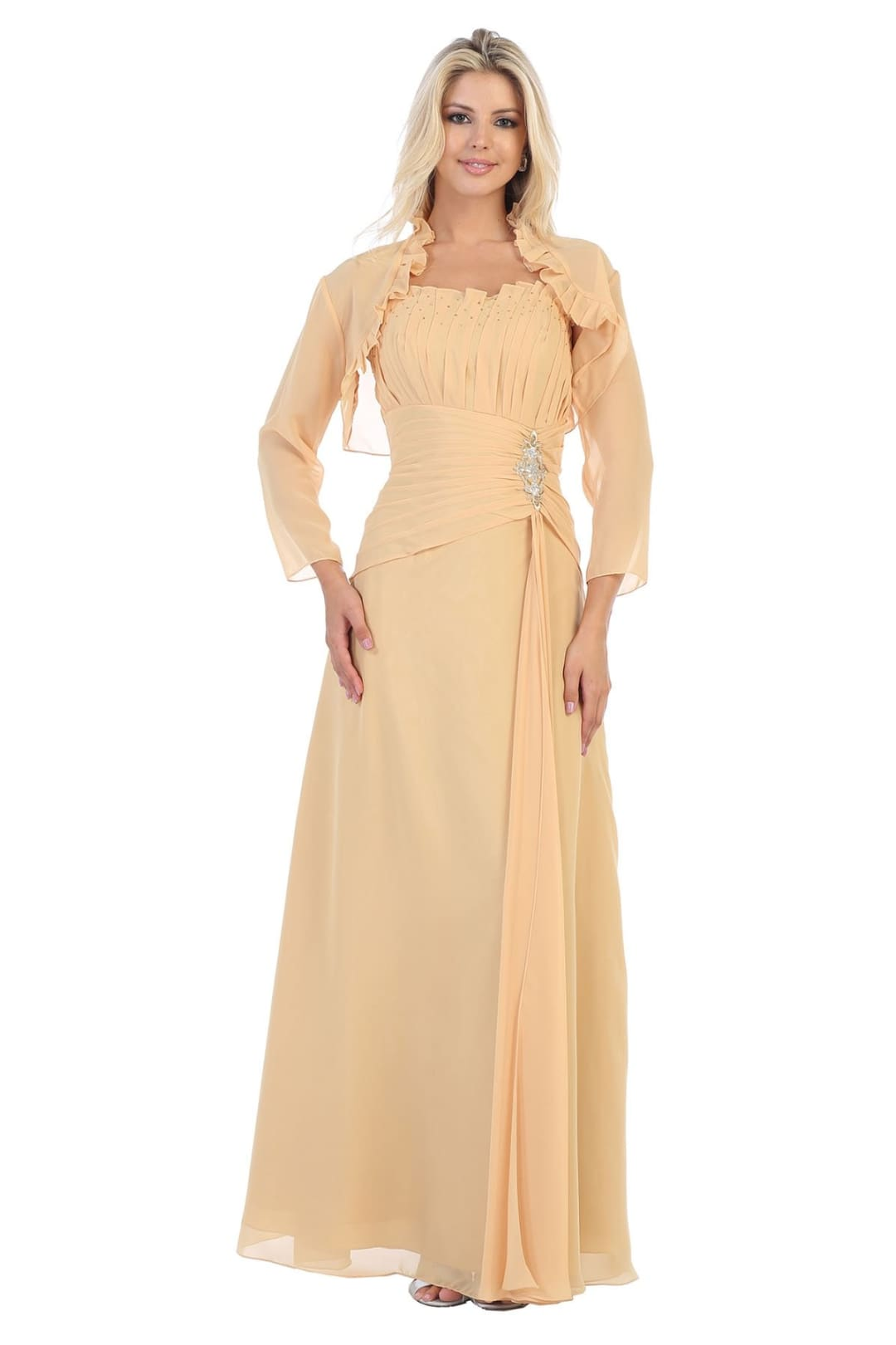 Nice Evening Gown - Gold / S