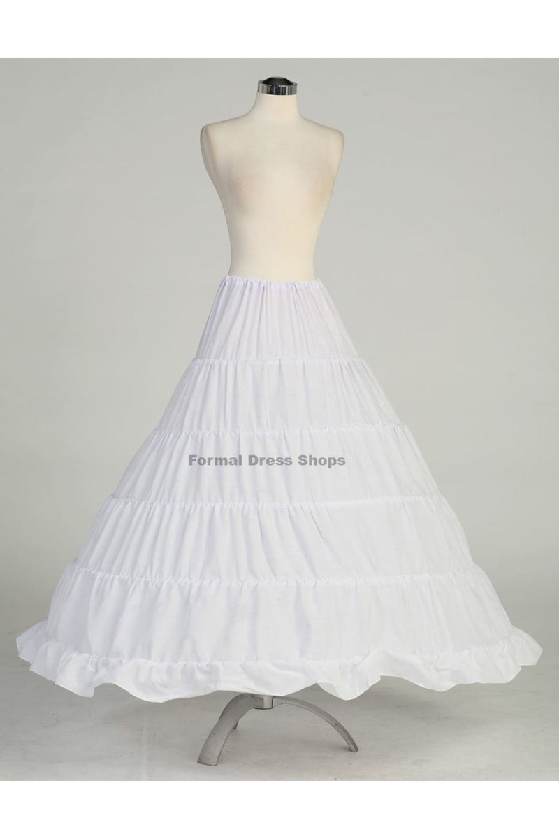 Petticoat Quinceanera Dress 5 Hoop