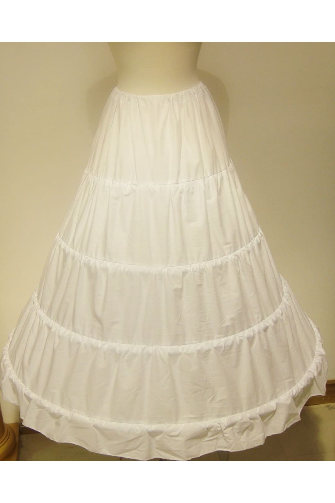 Petticoat Wedding Ball Gown