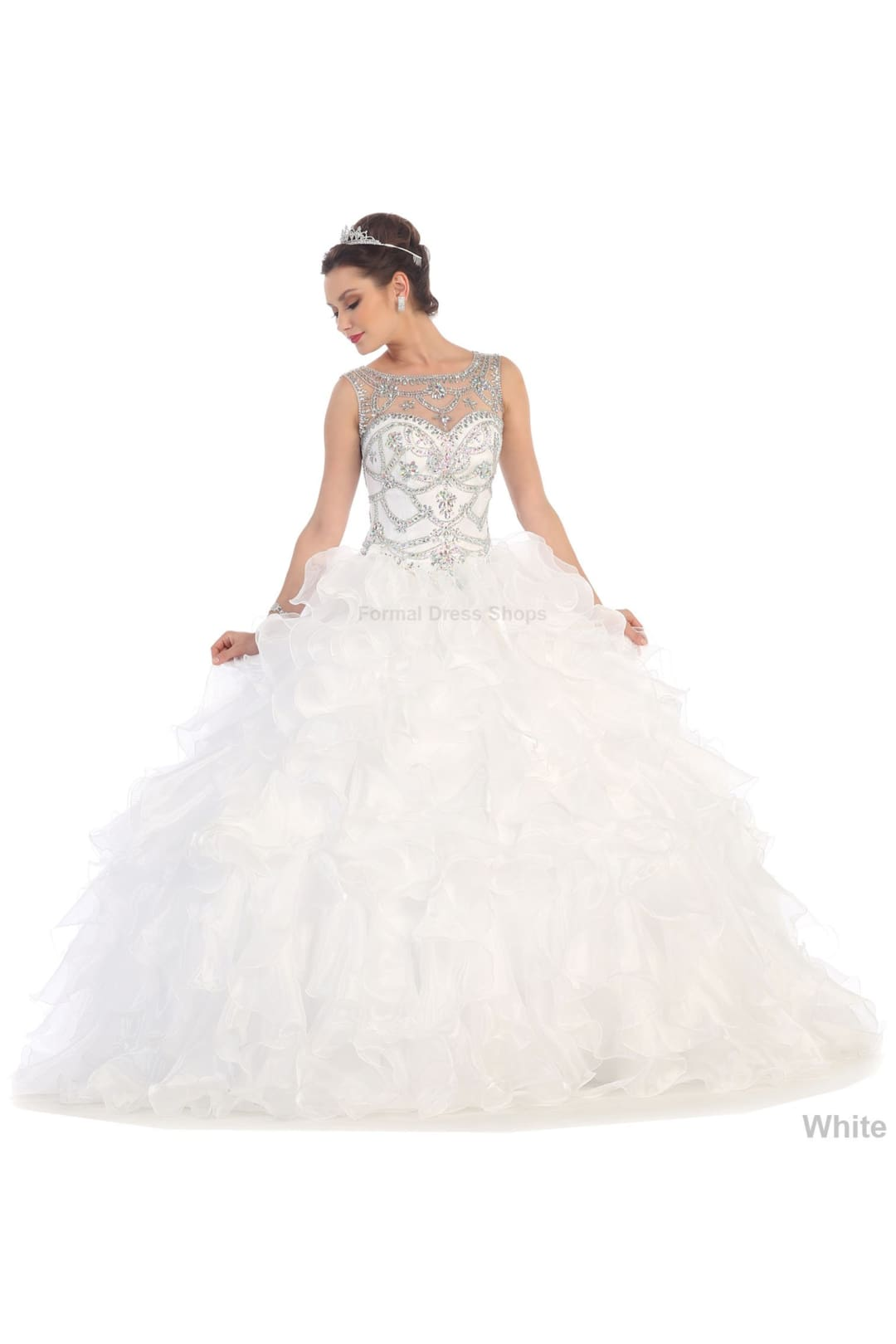 Princess Ball Gown - White / 4
