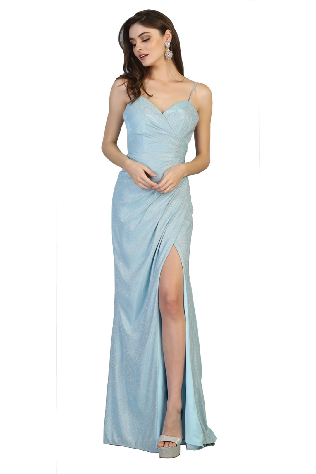 Prom Dress Long - BABY BLUE / 4