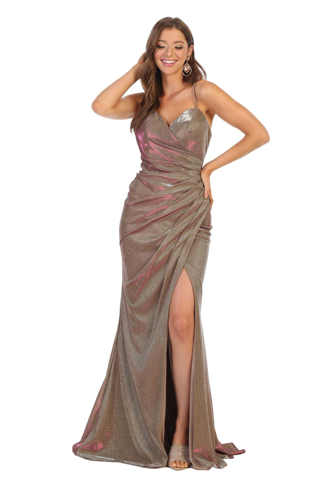 Prom Dress Long - TAUPE / 4
