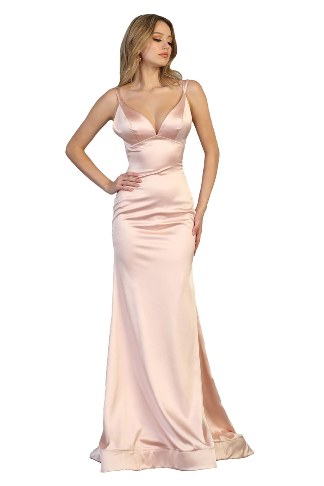 Prom Dresses Long - BLUSH / 2