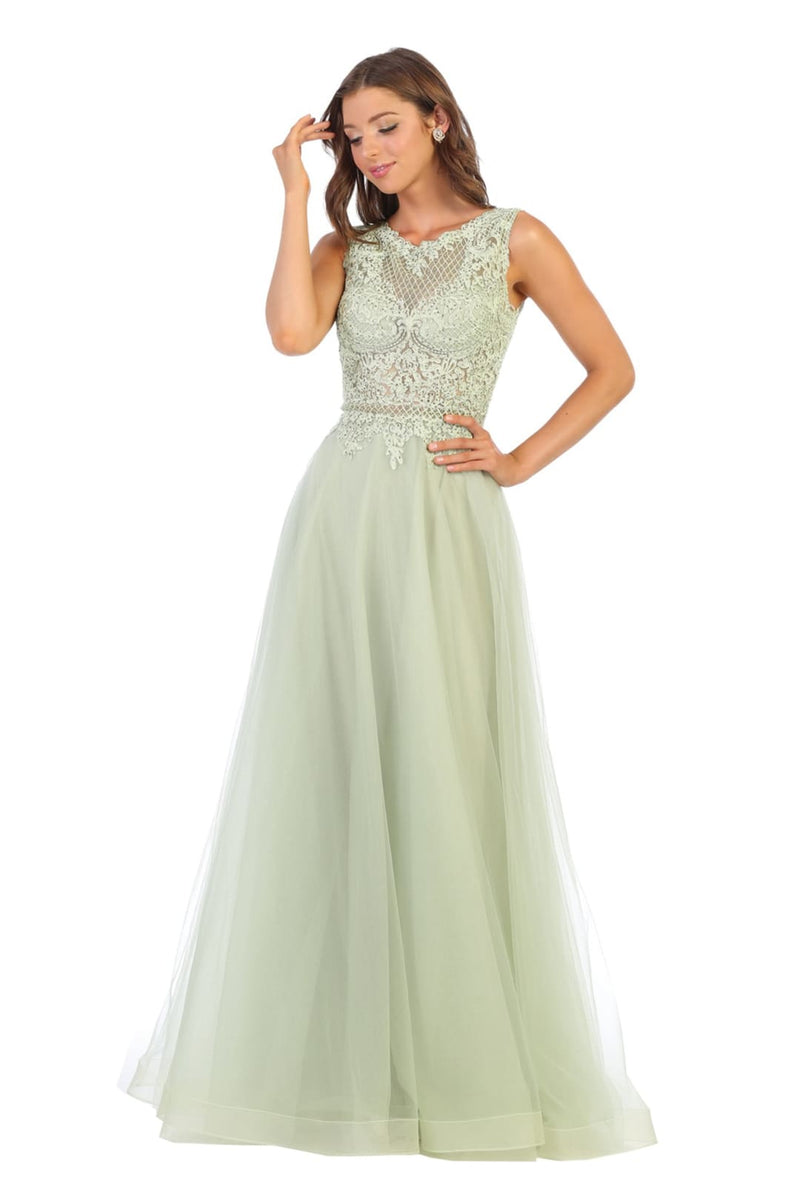 Prom Formal A-line Dresses And Plus Size