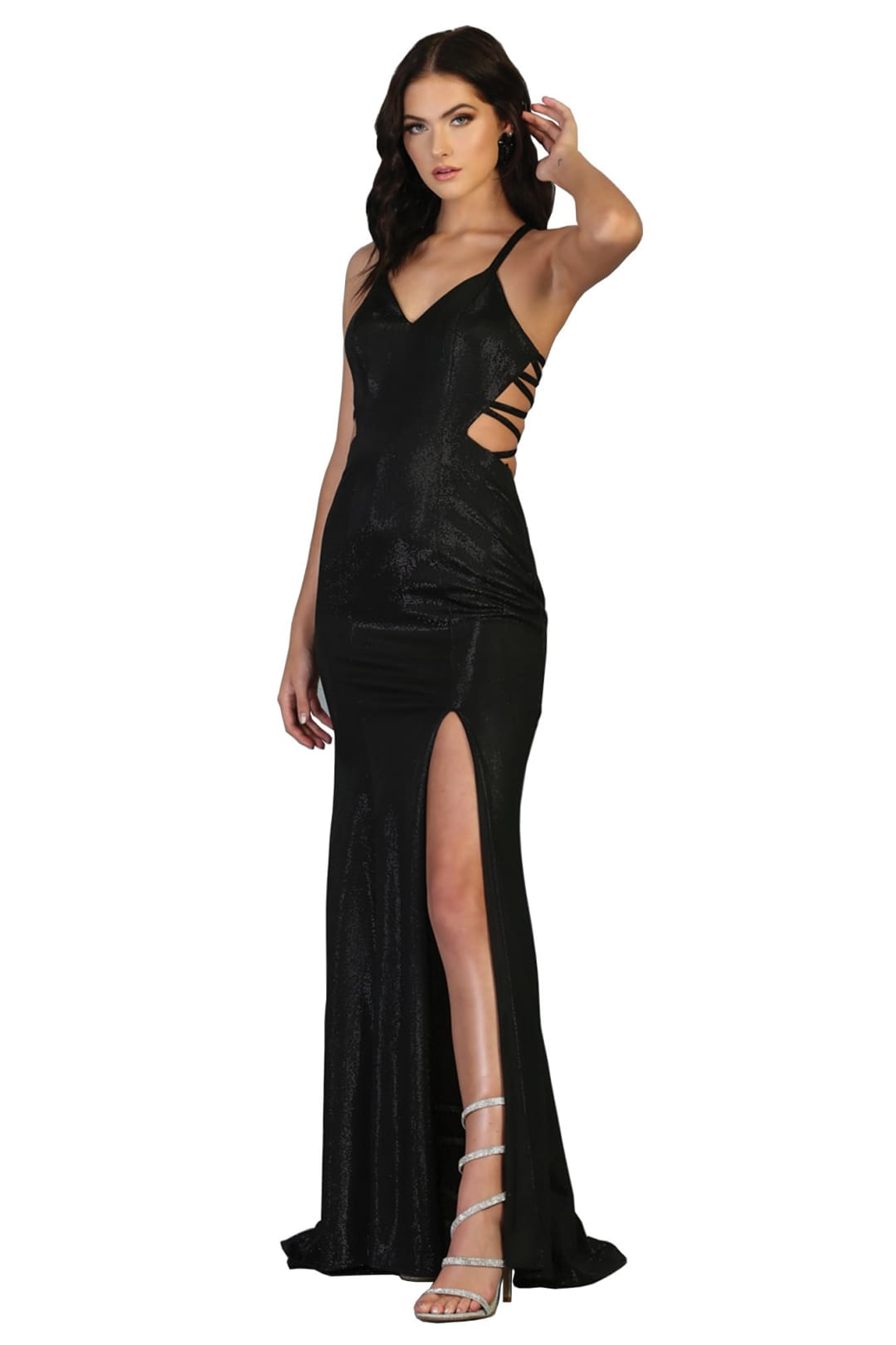 Prom Sexy Long Dresses - BLACK / 2