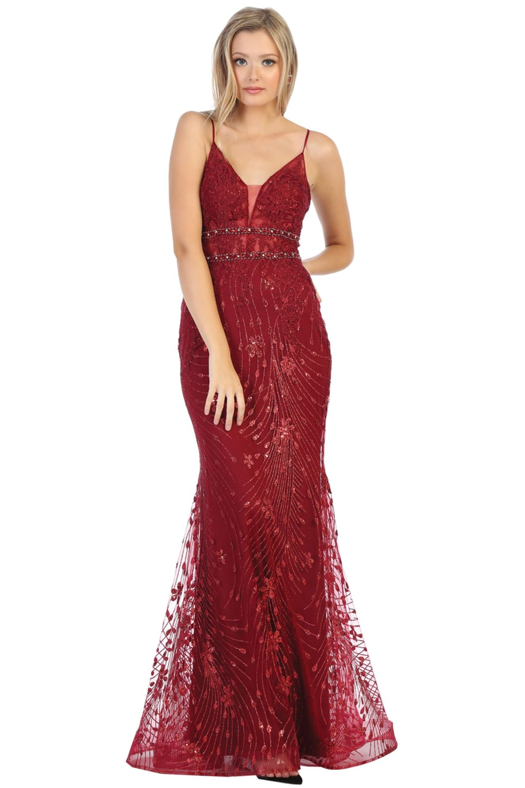 Prom Shiny Formal Gowns And Plus Size