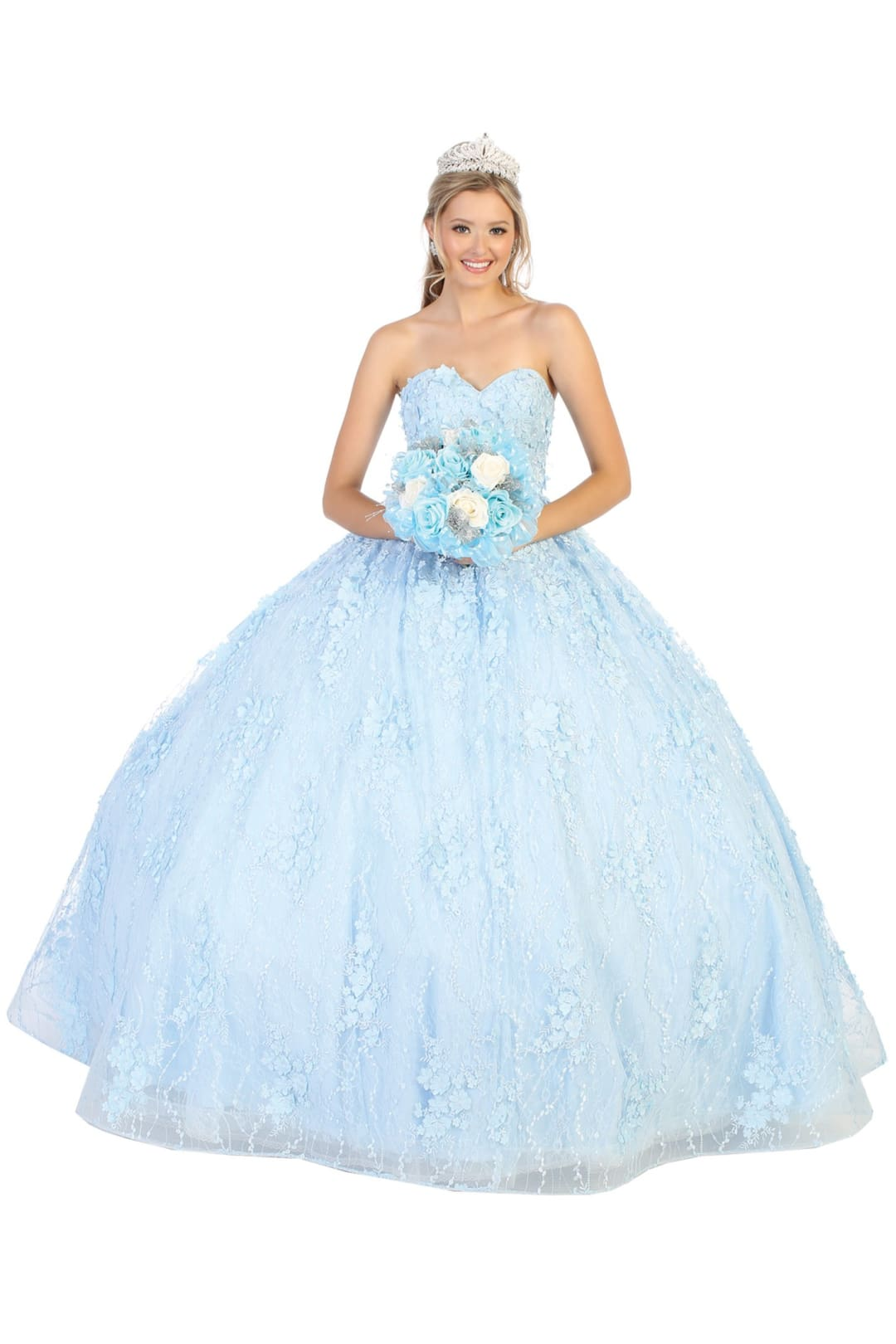 Quinceanera Ball Gown And Plus Size