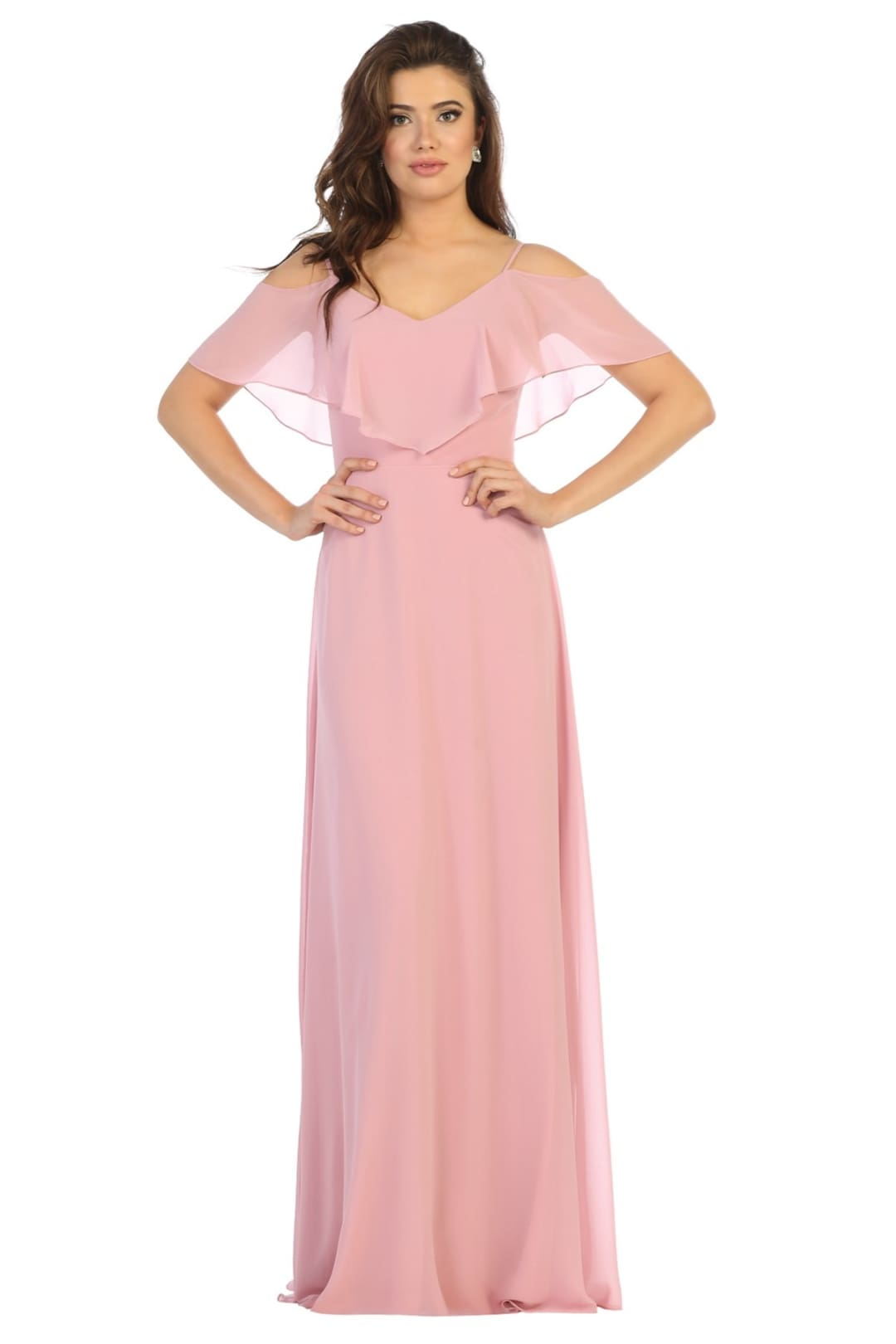 Simple & Elegant Dress - Dusty Rose / 4