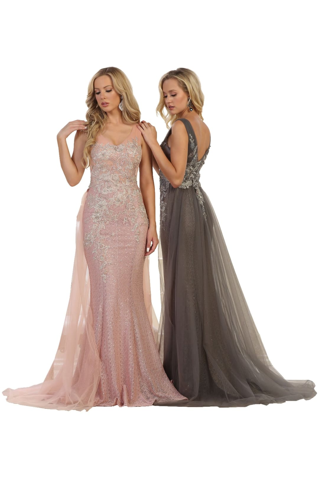 Sleeveless Prom Gown