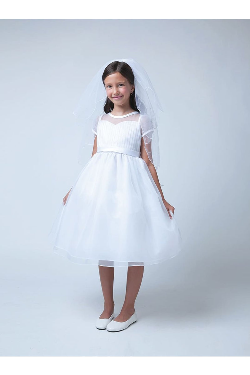 Special Occasion Sleeveless Kids Dresses - LAK564
