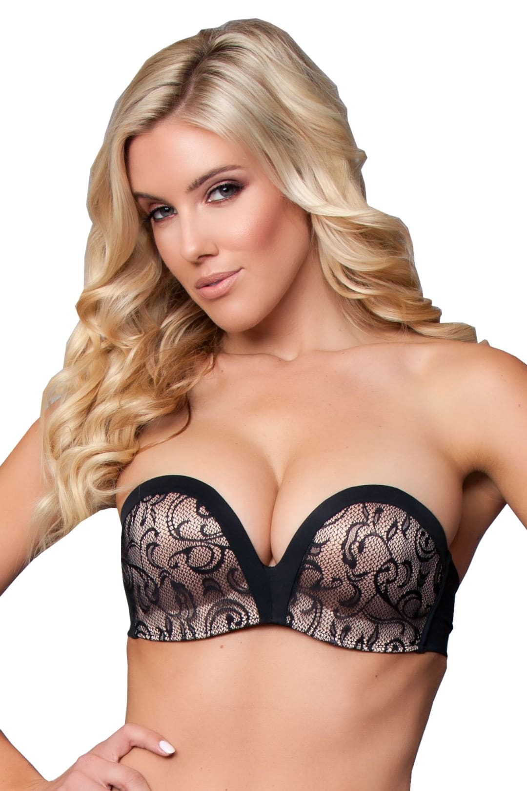 Strapless Push Up Bra - Accessories