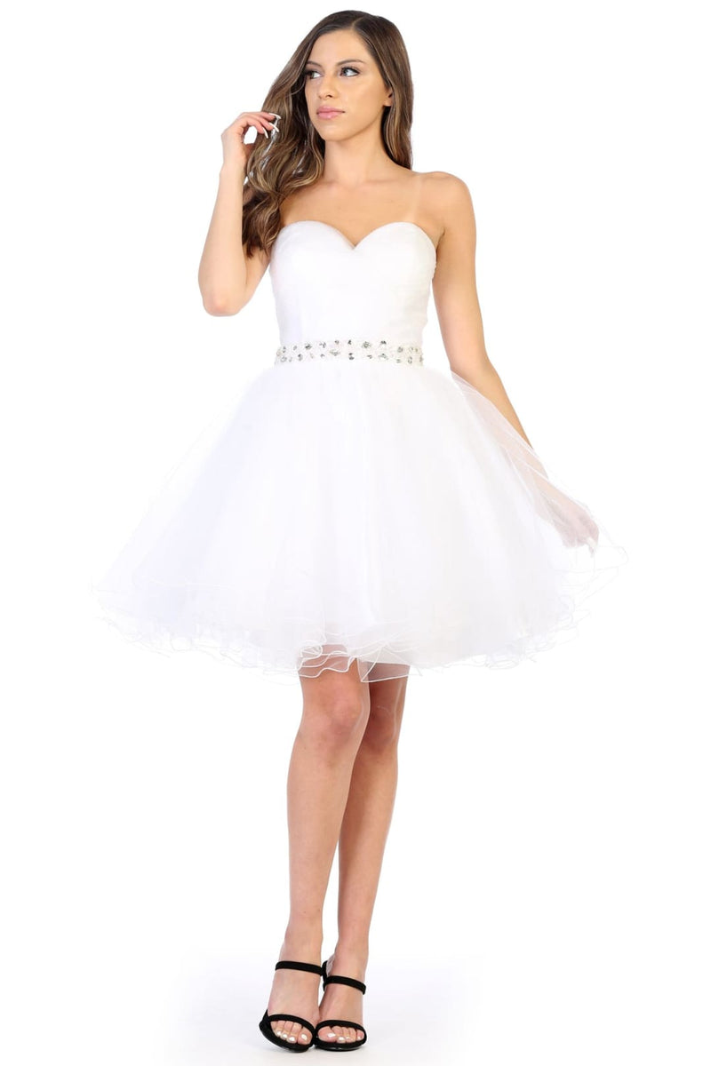 Sweetheart Bodice Cocktail Dress