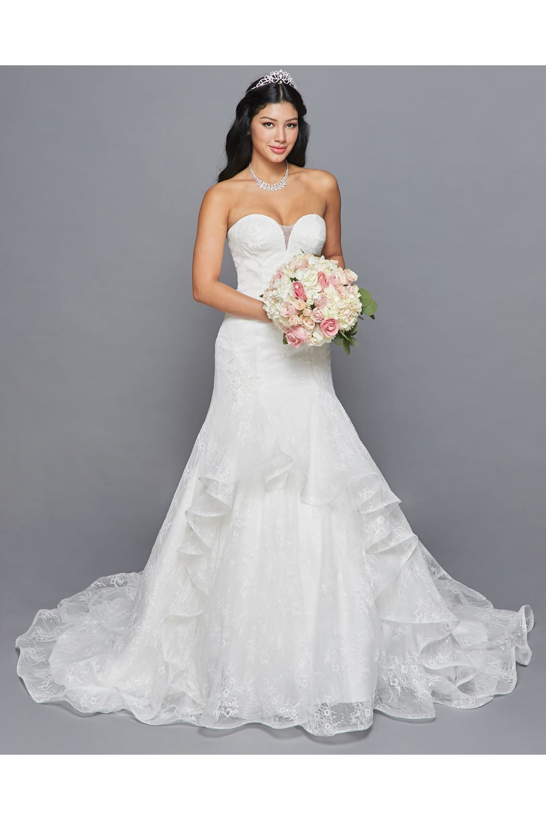 Sweetheart Wedding Dresses With Train