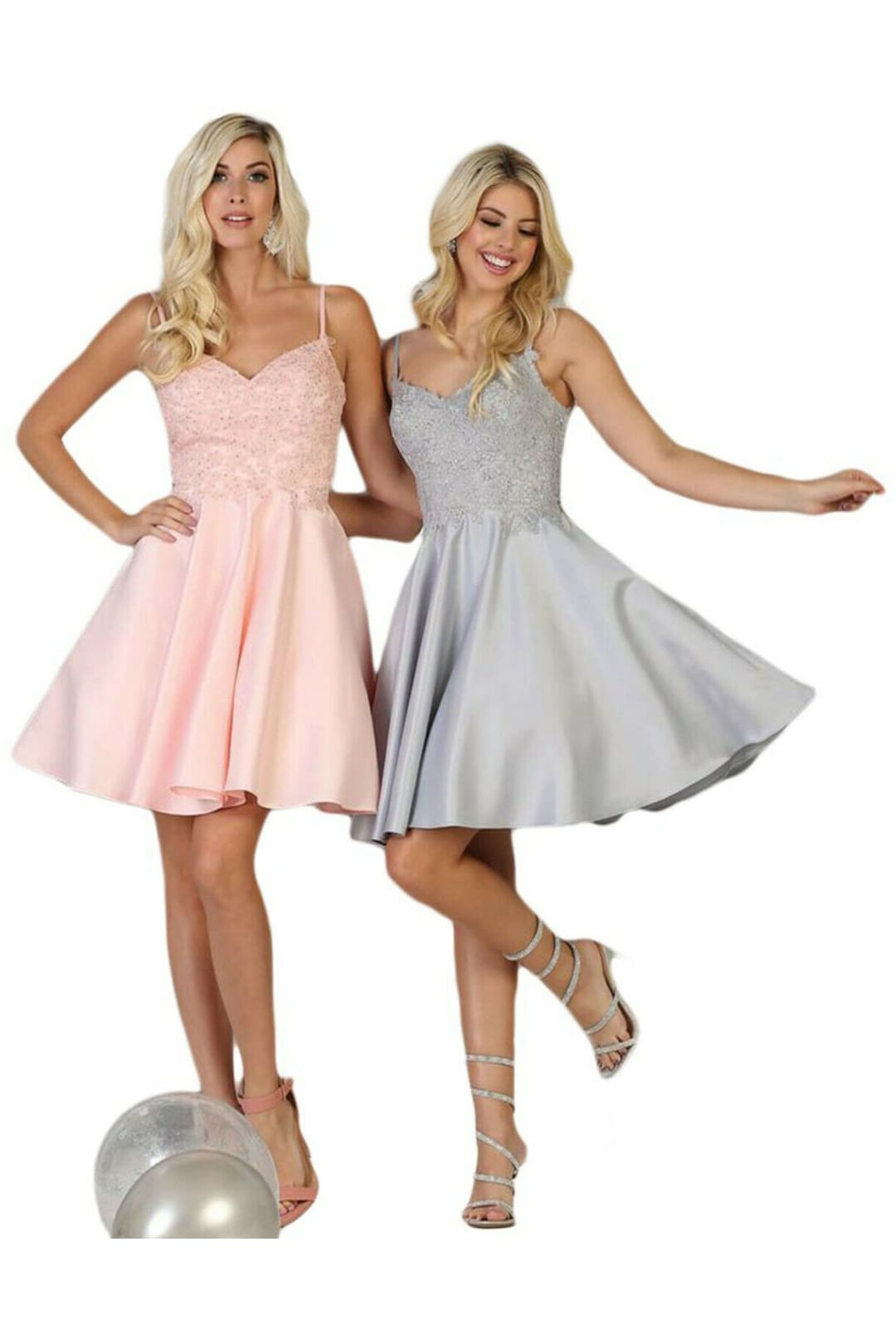 Taffeta Short Prom Dress