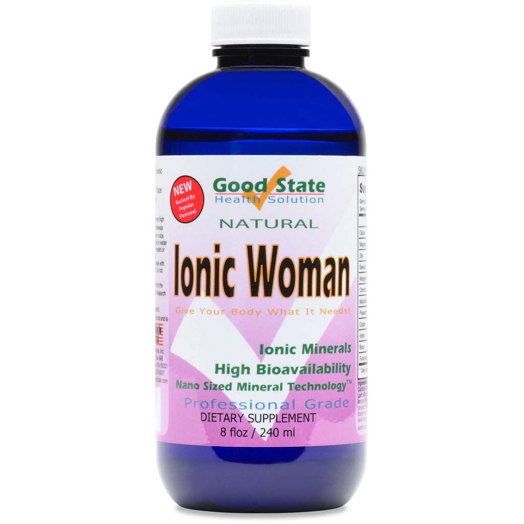 Natural Professional Grade Nano Sized Mineral Women's Supplement
