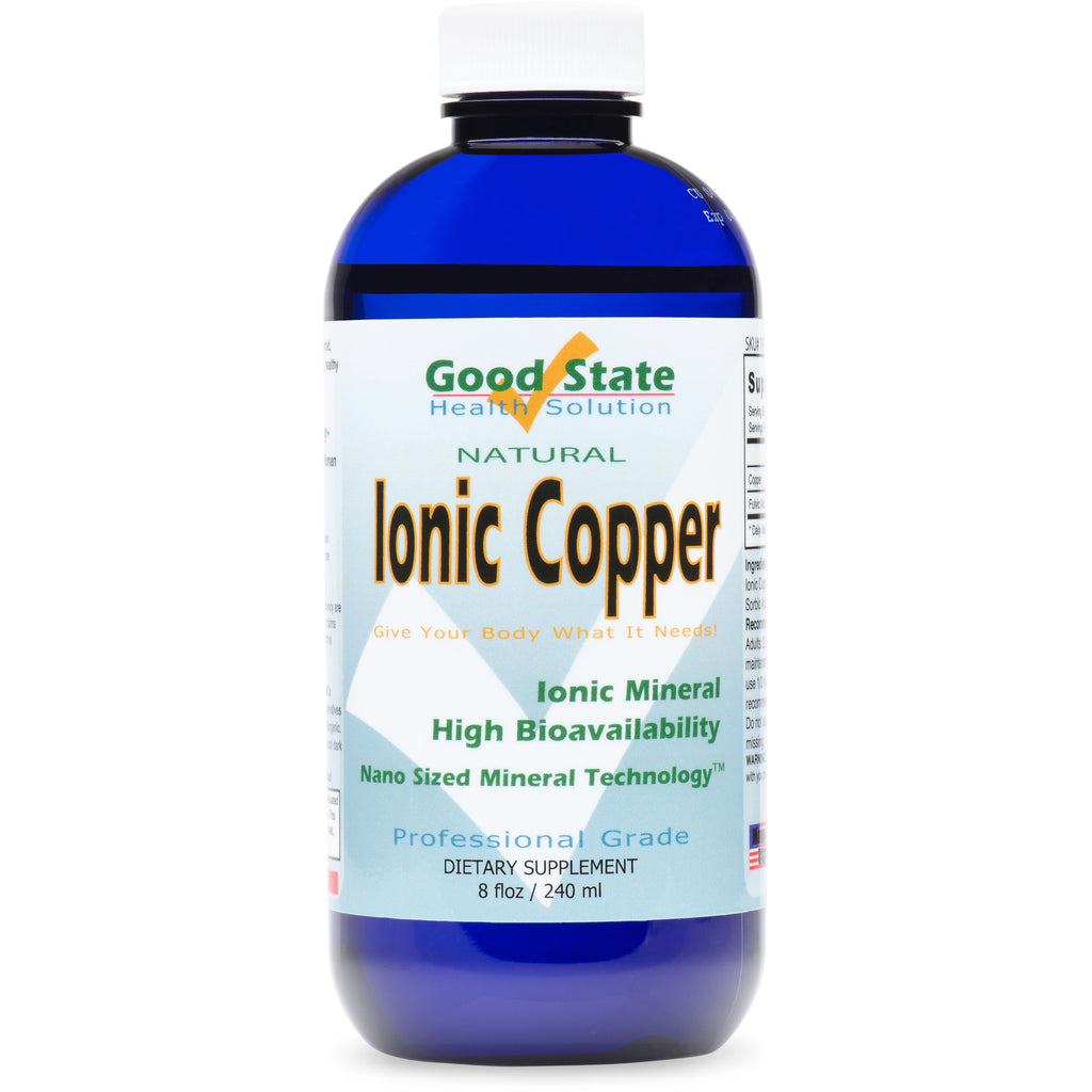Professional Grade Liquid Ionic Copper Natural Mineral Supplement