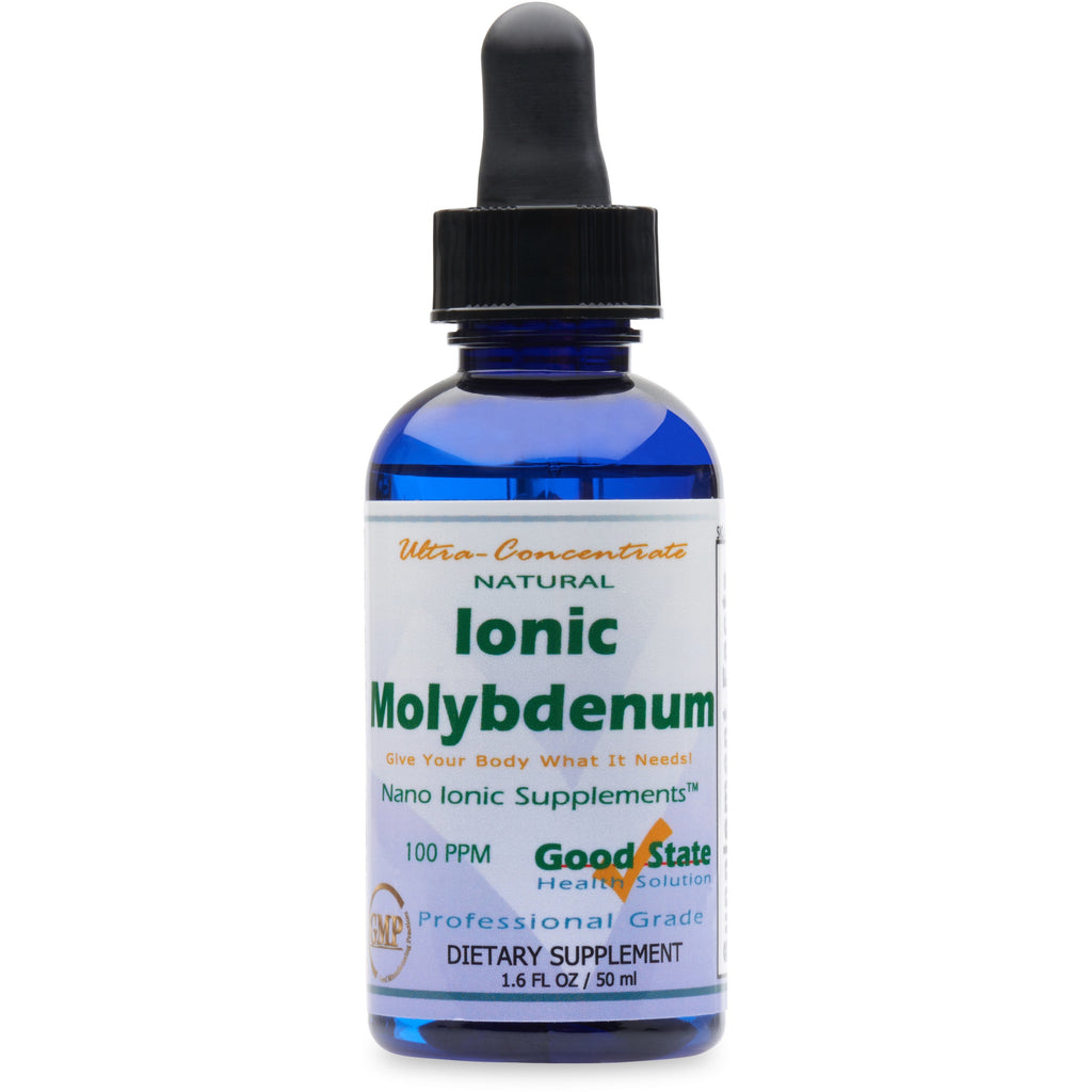 Liquid Ultra Concentrate Nano Ionic Molybdenum Mineral Supplement