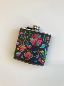 Embroidered Flask