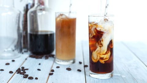 coffee recipes, cold brew recipe, homemade iced coffee,