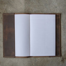 Load image into Gallery viewer, Handstitched Leather Journal