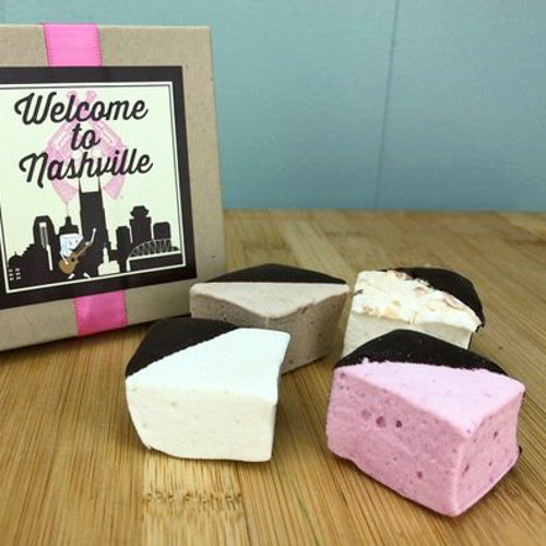 Chocolate-Dipped Gourmet Marshmallows
