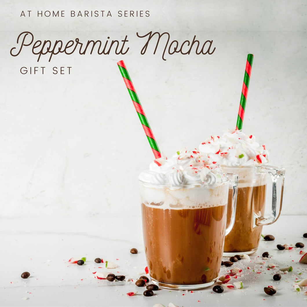 At-Home Barista: Peppermint Mocha Kit