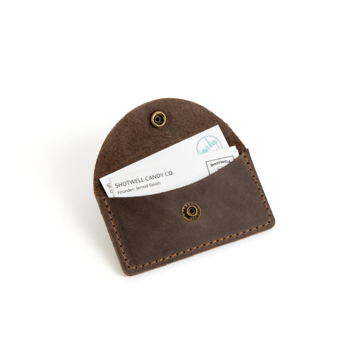 Premium Leather Business Card Holder