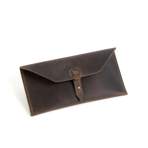 Leather Sunglasses/Tech Cord Case