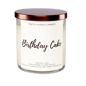Birthday Cake Artisan Candle