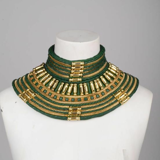 Bullet Gold Neck Piece