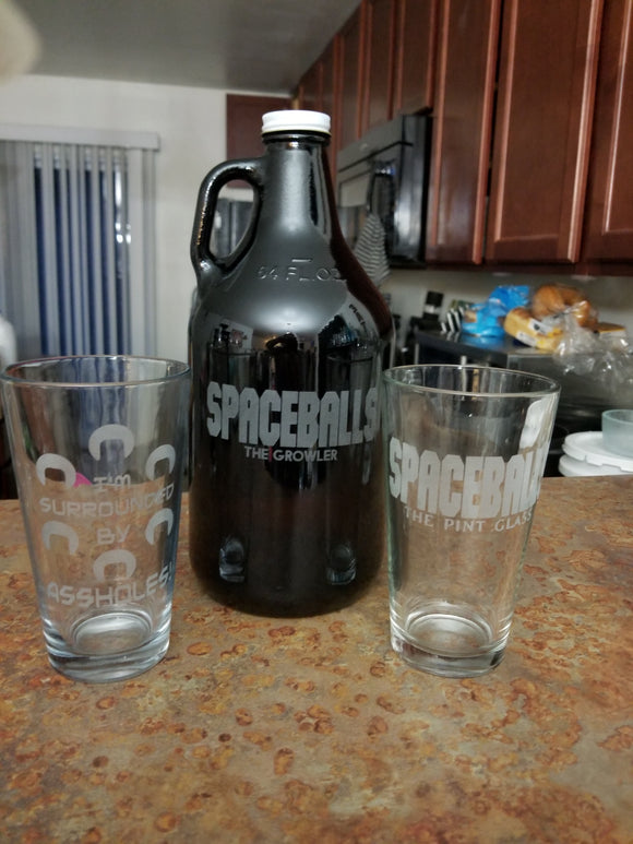 Spaceballs the Drinking Set