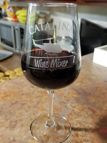 Catalina Wine Mixer Wine Glass
