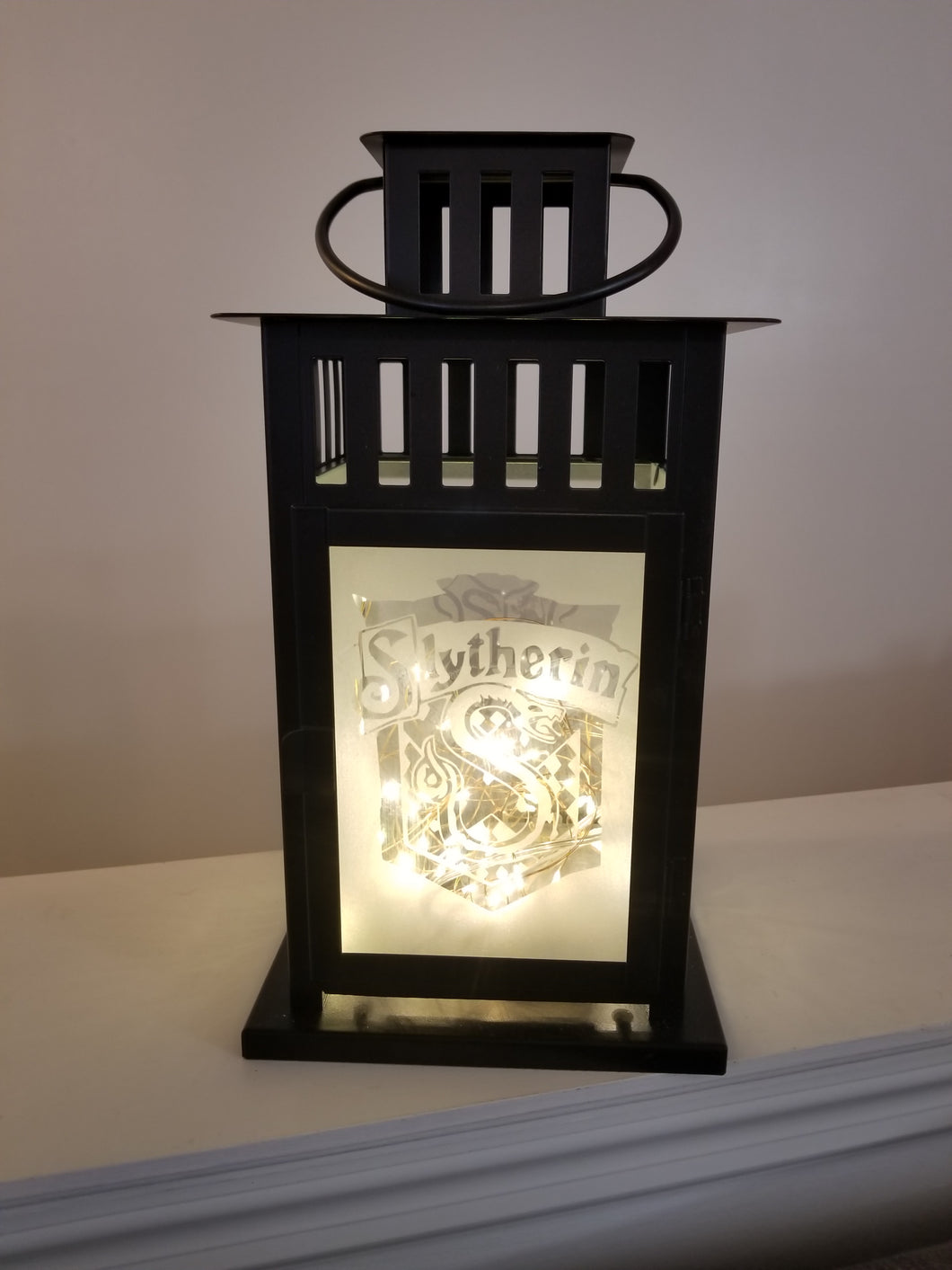 Slytherin Inspired Lantern