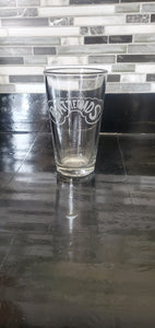 Battletoads Inspired Pint Glass